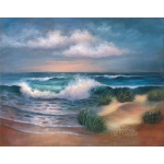 "Royal & Langnickel® Paint Your Own Masterpiece™ 11 x 14 Hampton Beach: 11"" x 14"", (model POM-SET6), price per set"