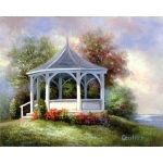"Royal & Langnickel® Paint Your Own Masterpiece™ 11 x 14 Gazebo: 11"" x 14"""