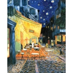 "Royal & Langnickel® Paint Your Own Masterpiece™ 11 x 14 Terrace At Night: 11"" x 14"", (model POM-SET9), price per set"