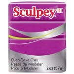 Sculpey® III Polymer Clay Pearl: Red/Pink, Bar, Polymer, 2 oz, (model S3021112), price per each