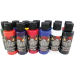 Wicked Colors™ Airbrush Paint Dru Blair 17-Piece Set: Multi, Bottle, 2 oz, Airbrush, (model W112-00), price per set