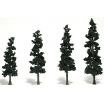 "Woodland Scenics® 4""-6"" Ready Made Tree Value Pack Conifer: 24-Pack, 4""- 6"", Tree, (model WSTR1581), price per each"