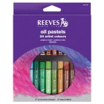 Reeves™ Large Oil Pastel 24-Color Set: Multi