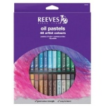 Reeves™ Large Oil Pastel 48-Color Set: Multi