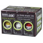 Liquitex® Professional Acrylic Ink! Essential Set: Multi, Jar, 30 ml, Acrylic, (model 104201), price per set