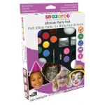 Snazaroo™ Face Painting Ultimate Party Pack: Multi, (model 1180100), price per pack