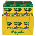 Crayola® Original Crayon Set Display Assortment: Multi, Stick, (model 52-2448D), price per each