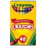 Crayola® Original Crayon 48-Color Set: Multi, Stick, (model 52-0048), price per pack