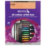 Reeves™ Oil Color Box: Multi, Oil, (model 8210162), price per set