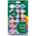 Reeves 5ml Acrylic 18-Color Set