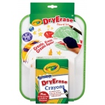 Crayola® Dry-Erase Bold Color Board Set: Children's Art Kit, Dry Erase, (model 98-8635), price per set