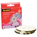 Scotch Advanced Tape Glider Acid-Free Tape Rolls