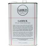 Gamblin Gamsol Oil 128oz: 128 oz, Solvents, (model G00099), price per each