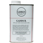 Gamblin Gamsol Oil 16oz: 16 oz, Solvents