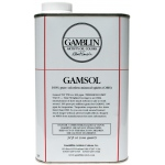 Gamblin Gamsol Oil 32oz: 32 oz, Solvents