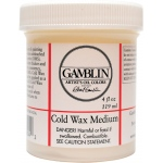 Gamblin Cold Wax Medium 4oz: 4 oz, Wax, (model G03004), price per each