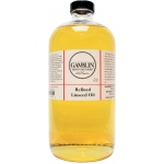 Gamblin Refined Linseed Oil 32oz: 32 oz, Linseed Oil, (model G06032), price per each