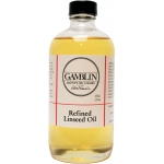 Gamblin Refined Linseed Oil 8oz: 8 oz, Linseed Oil, (model G06008), price per each