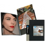 "Itoya® Art Profolio® ""The Original"" Presentation Book 8"" x 10"": Black/Gray, Polypropylene, 24 Pages, 8"" x 10"", (model IA127), price per each"