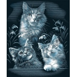"Reeves™ Scraperfoil™ Scraperfoil Kittens: Metallic, 8"" x 10"", (model PPSF25), price per each"