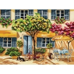 "Reeves™ Large Acrylic Painting By Numbers Set Al Fresco: 12"" x 15 1/2"", (model PL62), price per each"