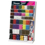 Sharpie® Oil-Based Paint Marker Display: Multi, Paint, Paint Marker, (model SN37223D), price per each