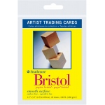 "Strathmore® 300 Series 2.5"" x 3.5"" Smooth Surface Bristol Artist Trading Cards: White/Ivory, Artist Trading Card, 20 Cards, 2 1/2"" x 3 1/2"", Smooth, Bristol, 100 lb"