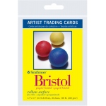 "Strathmore® 300 Series 2.5"" x 3.5"" Vellum Surface Bristol Artist Trading Cards: White/Ivory, Artist Trading Card, 20 Cards, 2 1/2"" x 3 1/2"", Vellum, Bristol, 100 lb"
