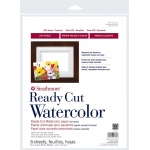 "Strathmore® 500 Series 11"" x 14"" Hot Press Ready Cut Watercolor Sheet Pack: White/Ivory, Sheet, 6 Sheets, 11"" x 14"", Hot Press, 140 lb, (model ST140-311), price per 6 Sheets"