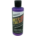 Auto-Air Colors™ Airbrush Paint 4oz Iridescent Purple: Purple, Bottle, 4 oz, Airbrush, (model 4358-04), price per each