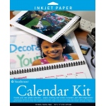 "Strathmore® 8.5"" x 11"" Inkjet Photo Calendar Kit: 8 1/2"" x 11"", Inkjet Photo Calendar Kit, (model ST59-686), price per pack"