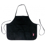 Heritage Arts™ Canvas Children's Apron: Black/Gray, Canvas, Child, (model CAPB2219), price per each