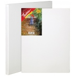 "Fredrix® Artist Series Red Label 20 x 20 Stretched Canvas: White/Ivory, Sheet, 20"" x 20"", 11/16"" x 1 9/16"", Stretched, (model T5056), price per each"