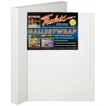 "Fredrix® Gallerywrap™ 24"" x 30"" Stretched Canvas: White/Ivory, Sheet, 24"" x 30"", 1 3/8"" x 1 3/8"", Stretched, (model T5088), price per each"