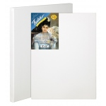 "Fredrix® Artist Series Blue Label 20"" x 24"" Blue Label Ultra Smooth Stretched Canvas: White/Ivory, Sheet, 20"" x 24"", 11/16"" x 1 9/16"", Stretched, (model T5609), price per each"