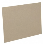 "Fredrix® 32"" x 40"" Mounting Board Brown, 32"" x 40"", .045"", Mounting Board, (model T7330), price per each"