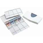 Winsor & Newton™ Cotman™ Watercolor Painting Plus 12-Color Tube Set: Multi, Tube, 8 ml, Watercolor, (model 0390377), price per set