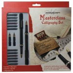 Manuscript Masterclass Calligraphy Set: Multi, Fountain, B-Style, Medium Nib, (model MC146), price per set