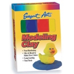 Sargent Art® Non-Hardening Modeling Clay Primary 4-Pack: Multi, 4-Pack