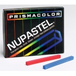 Prismacolor® NuPastel® 12-Color Set: Multi, Stick, Drawing, (model 27048), price per set