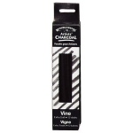 Winsor & Newton™ Artists' Vine Charcoal Extra Soft Set: Black/Gray, Extra Soft, Stick, Vine, (model 7005160), price per box