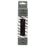 Winsor & Newton™ Artists' Vine Charcoal Medium Set: Black/Gray, Medium, Stick, Vine, (model 7005166), price per box