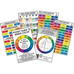 "Color Wheel 3"" x 5"" Color Mixing Guide"