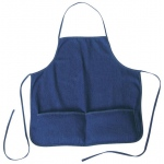 Heritage Arts™ Standard Adult Size Denim Artist Apron: Blue, Denim, Adult, (model DAP2324), price per each