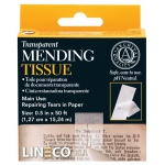"Lineco® Transparent Mending Tape: Mounting, 1/2"", (model L5330017), price per each"