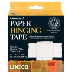 Lineco® Water-activated Gummed Frame/Hinging Tape: Mounting, 1""
