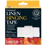 Lineco® Water-activated Gummed Linen Tape: Mounting, 1""