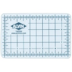 "Alvin® TM Series Translucent Professional Self-Healing Cutting Mat 3 1/2 x 5 1/2: Clear, Grid, Vinyl, 3 1/2"" x 5 1/2"", 3mm, Cutting Mat"
