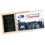 Yarka® Natural Willow Charcoal Set: Black/Gray, Stick, Willow, (model YK19101), price per box