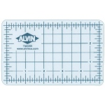 "Alvin® TM Series Translucent Professional Self-Healing Cutting Mat 12 x 18: Clear, Grid, Vinyl, 12"" x 18"", 3mm, Cutting Mat, (model TM2218), price per each"